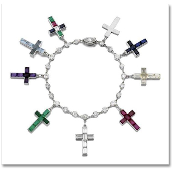 Cross Was The Charm Bracelet Favorite Which A Cartier Gift
