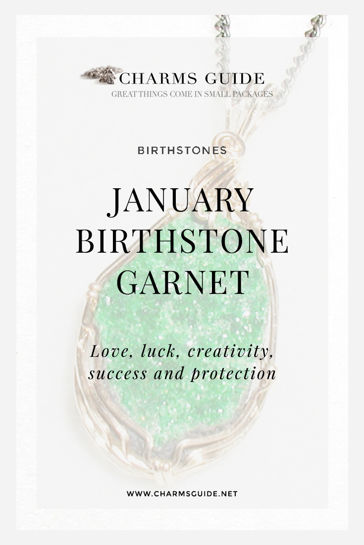 Did you know that the January birthstone garnet comes in many colors? Learn about this gorgeous gemstone's different varieties, healing properties and more, and see our curated selection of garnet jewelry.