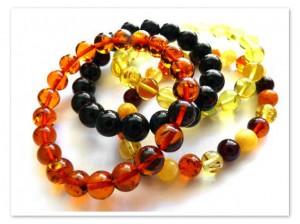 Round amber