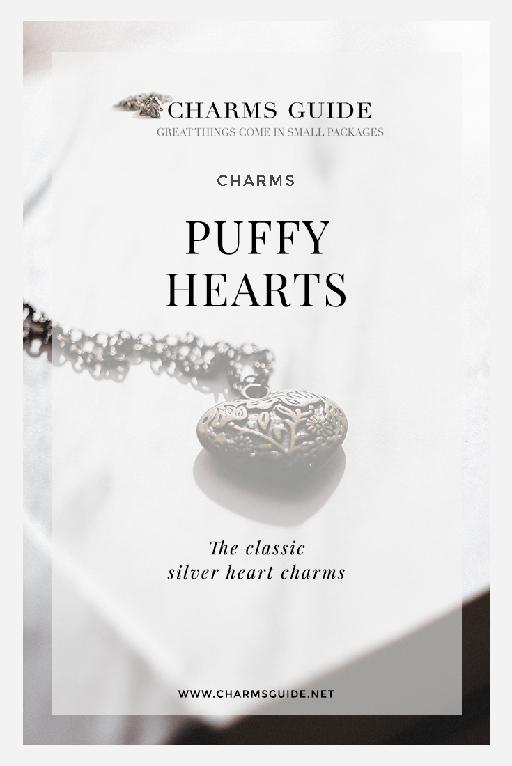 What to look for when shopping for vintage puffy heart charms (and a few of our favorite finds on Etsy).