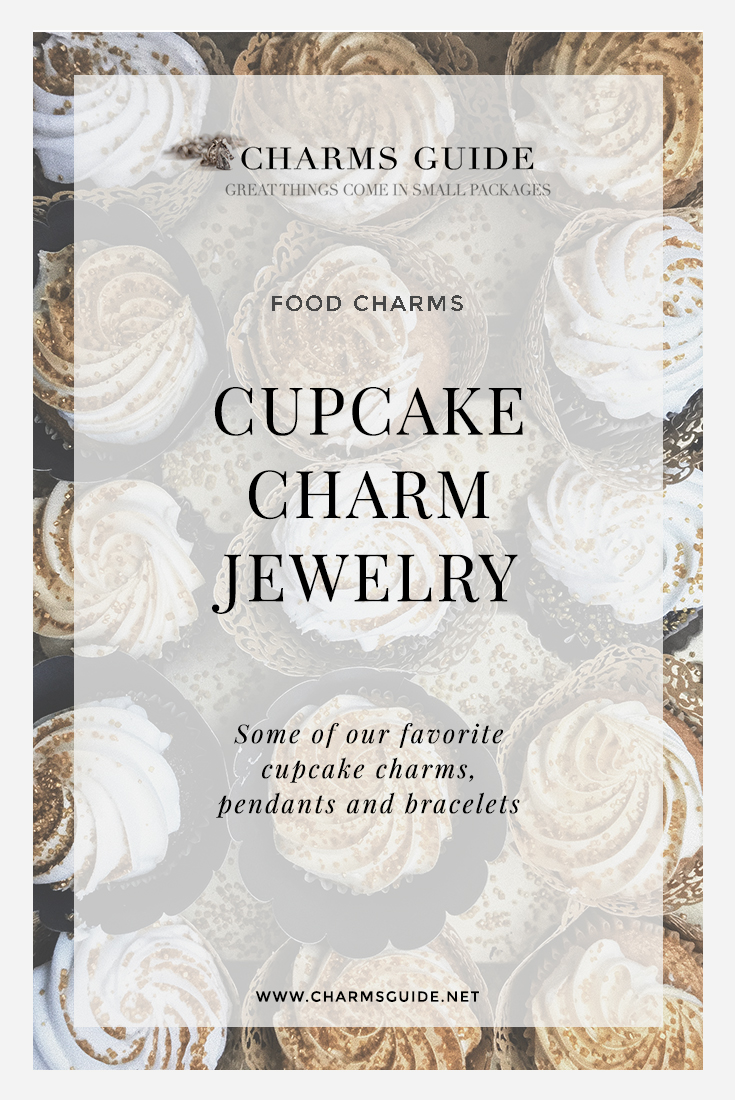 Looking for a foodie gift? Check out our curated selection of cupcake charms, pendants and charm bracelets.