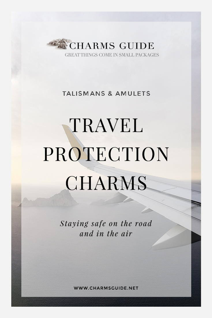 Travelers, this one is for you! Travel protection charms, amulets and talismans. Learn about the spiritual energy and powers of our handpicked jewelry favorites
