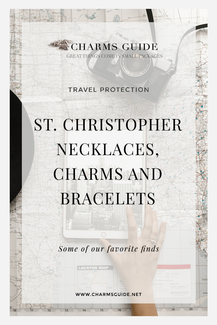 Need a gift for a traveler or surfer? Check out our favorite St. Christopher necklace pendants, charms and bracelets! St. Christopher has been known throughout history as The Protector of Travelers, but he is also a protector of athletes, mariners, sailors, soldiers, bachelors, and transportation workers. St. Christopher necklaces are also often worn by surfers, a tradition that started in California in the 1960s and still lives on today.